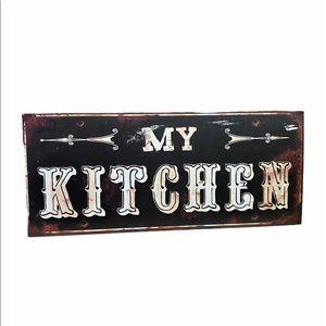 Rustic Kitchen Sign Farmhouse Home Decor